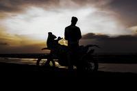 Other bike Photos - CS Santosh, Hero MotoSports Team Rally in the salt fields of Rann of Kutch