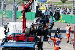 The Sahara Force India F1 VJM09 of Nico Hulkenberg, Sahara Force India F1