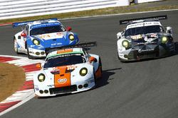 #86 Gulf Racing Porsche 911 RSR: Michael Wainwright, Adam Carroll, Ben Barker, #88 Proton Racing Porsche 911 RSR: Khaled Al Qubaisi, David Heinemeier Hansson, Patrick Long, #78 KCMG Porsche 911 RSR: Christian Ried, Wolf Henzler, Joël Camathias
