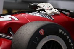 Gloves of Graham Rahal, Rahal Letterman Lanigan Racing Honda