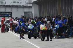 Aleix Espargaro, Team Suzuki MotoGP bike swap