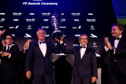 Championship winning team Alain Prost and Jean-Paul Driot, Formula E Awards Gala