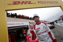 Pole position for José María López, Citroën World Touring Car Team, Citroën C-Elysée WTCC