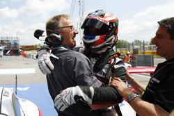 Race winner Matteo Cairoli and Alex Fach