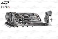 Formula 1 Photos - McLaren MP4/31 front wing, United States GP
