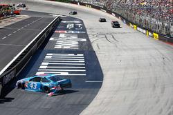 Aric Almirola, Richard Petty Motorsports Ford crash