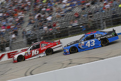 Ryan Reed, Roush Fenway Racing Ford, Jeb Burton, Richard Petty Motorsports Ford