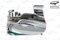 Formula 1 Photos - Mercedes W07 top exits, Hungarian GP
