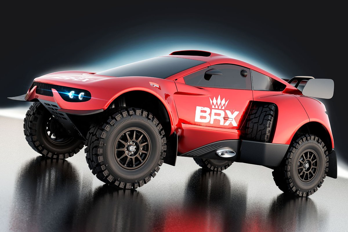Bahrain Raid Xtreme Prodrive Hunter T1+