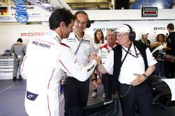 Mark Webber, Porsche Team, Oliver Blume, Chairman of the Executive Board of Porsche AG, Dr. Wolfgang Porsche