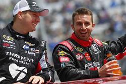 Michael McDowell, Circle Sport Leavine Family Racing, Matt DiBenedetto, BK Racing Toyota