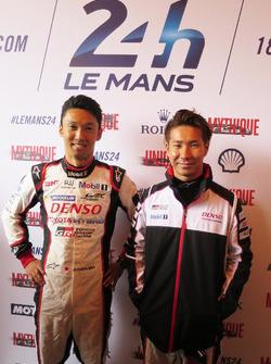 Kazuki Nakajima, Kamui Kobayashi  TOYOTA GAZOO Racing