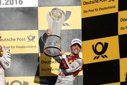 Podium Championship: third place Jamie Green, Audi Sport Team Rosberg, Audi RS 5 DTM.
