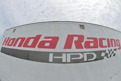 Honda Racing HPD signage