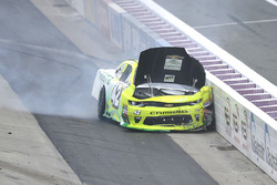 Justin Marks, Chip Ganassi Racing Chevrolet in heavy crash
