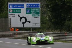 #40 Krohn Racing Ligier JS P2 - Nissan: Tracy Krohn, Nic Jonsson, Joao Barbosa