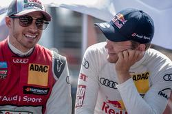 Edoardo Mortara, Audi Sport Team Abt Sportsline, Audi RS 5 DTM, Mattias Ekström (SWE) Audi Sport Team Abt Sportsline, Audi A5 DTM
