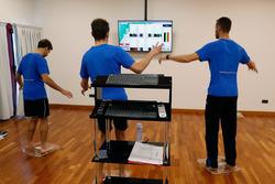 Antonio Felix da Costa,  Marco Wittmann and Martin Tomczyk, Mental Training