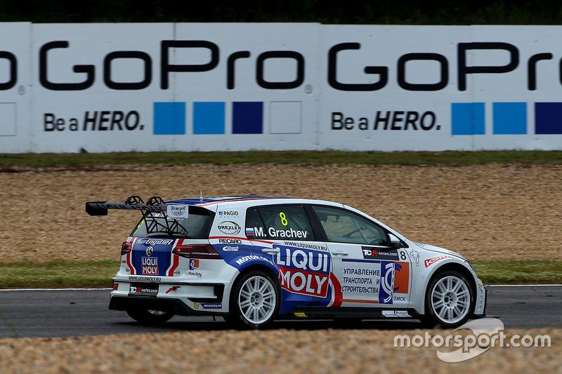 Mikhail Grachev, Liqui Moly Team Engstler, Volkswagen Golf GTI TCR at Estoril