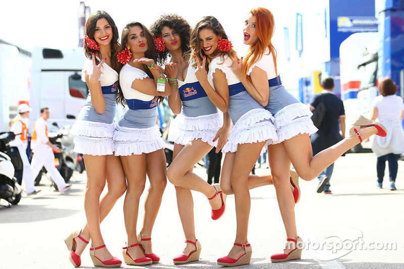 Become a red bull girl