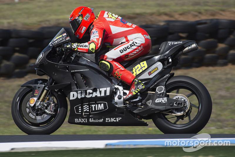 Andrea Iannone, Ducati Team at Phillip Island February testing - MotoGP Photos