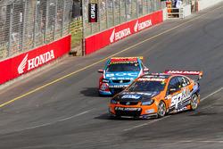 Andre Heimgartner, Lucas Dumbrell Motorsport Holden and Jason Bright, Brad Jones Racing Holden