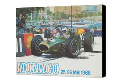 Vintage Monaco GP poster
