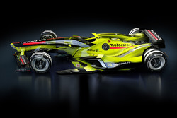 Fantasy F1 design of the future