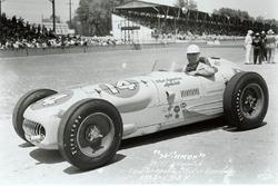 Race winner Bill Vukovich