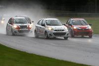Nissan Micra Cup Photos - Stefan Rzadzinski and Metod Topolnik