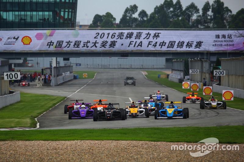 Chinese F4 Race Start