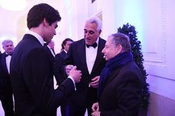 Lance Stroll, Lawrence Stroll, FIA President Jean Todt