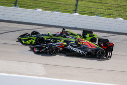 Sébastien Bourdais, KV Racing Technology Chevrolet, Charlie Kimball, Chip Ganassi Racing Chevrolet