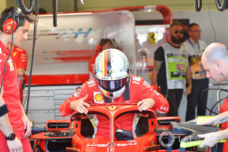 Vettel triunfa en la 'casa' de Hamilton; 'Checo' terminó 11° en Silverstone