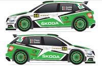 WRC Foto - Livrea Skoda Fabia R5 di Umberto Scandola