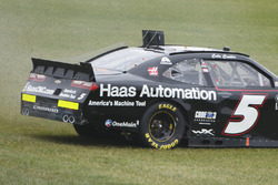 Cole Custer, JR Motorsports Chevrolet in trouble