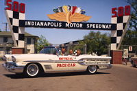 IndyCar Photos - Sam Hanks pace car