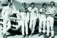 Formula 1 Photos - Jaques Lafitte, Didier Peroni, Alan Jones, Nelson Piquet, Carlos Reutemann