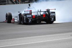 Mikhail Aleshin, Schmidt Peterson Motorsports Honda crash