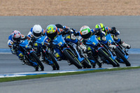 Asia Road Racing Championship Photos - Mario U. Bordon Jr. leads at the start of the race