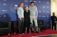 General Фото - Нико Росберг, Mercedes AMG F1, Жан Тодт, президент FIA, и Тото Вольф, совладелец и исполнительный директор Mercedes AMG F1