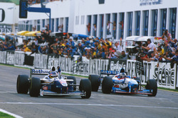 Jacques Villeneuve, Williams FW19 Renault win his Championship