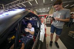Kids in the garage