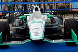 The car of Simon Pagenaud at the Conseil Départemental de la Vienne