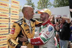 Gabriele Tarquini, LADA Sport Rosneft, Lada Vesta and Tiago Monteiro, Honda Racing Team JAS, Honda Civic WTCC