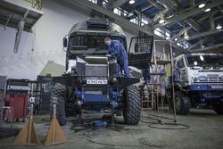 The new Kamaz Master Team truck