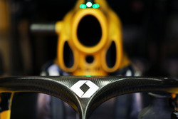 Renault Sport F1 Team RS16 with a Halo cockpit cover