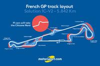 F1 Fotos - Diseño de pista del GP de Francia