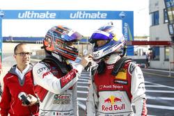 Edoardo Mortara, Audi Sport Team Abt Sportsline, Audi RS 5 DTM and Mattias Ekström, Audi Sport Team Abt Sportsline, Audi A5 DTM