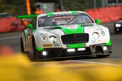 #24 Team Parker Racing, Bentley Continental GT3:  Tom Onslow-Cole, Ian Loggie, Callum Macleod, Andy Meyrick